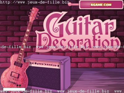 Décoration de guitare